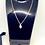 Thumbnail: Maryam's Diamond Style Genuine Cowrie Shell Pendant Necklace