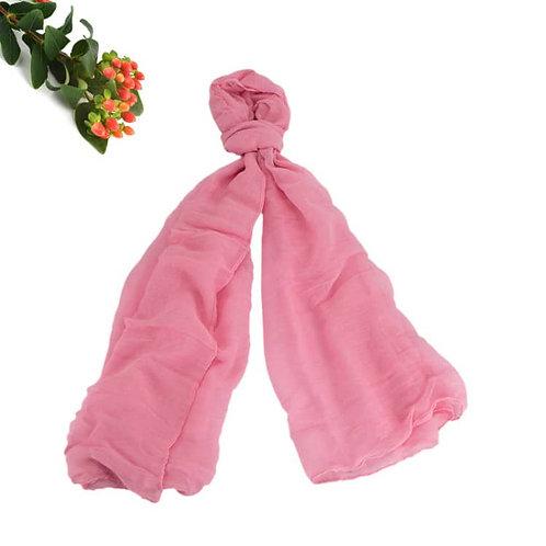 Maryam's Diamond Style Plain Pure Colour Viscose Soft Hijab/Shawl