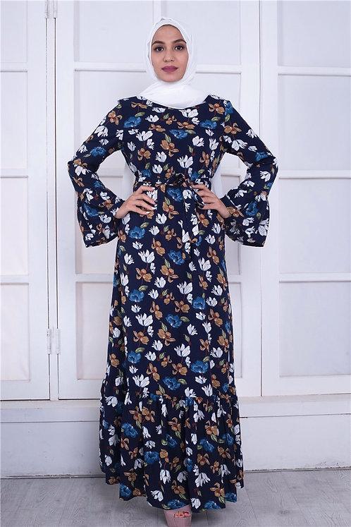 Maryam's Diamond Style Classic Flower Maxi Dress
