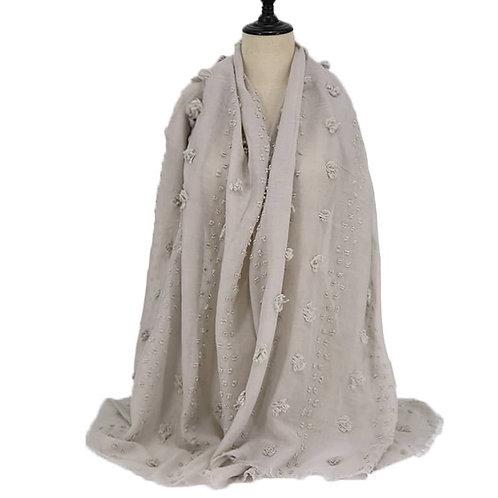 Maryam's Diamond Style Latest Cotton with Pom Pom