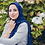 Thumbnail: Maryam's Diamond Style Cotton Viscose with Pearls And Silver Stones Hijab