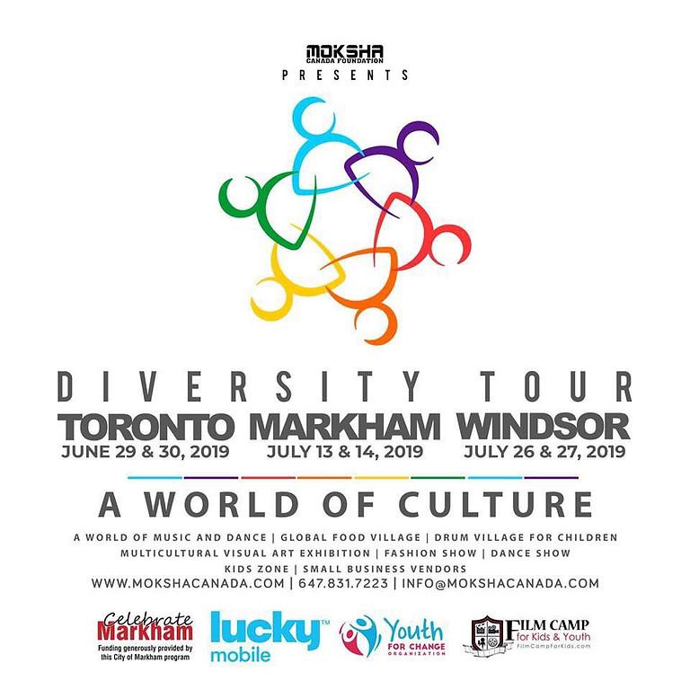 MARKHAM DIVERSITY TOUR