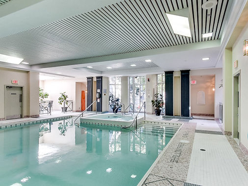 2289 Lake Shore Blvd W, Grand Harbour Condos Pool Toronto