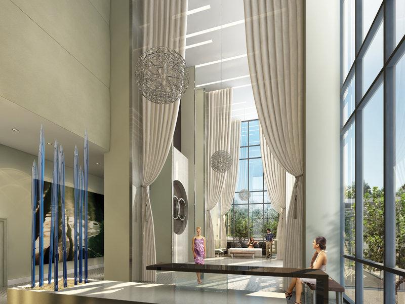 Ocean Club Condos Toronto Lobby