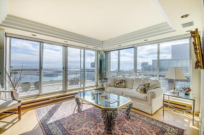 Kings Landing Penthouse 1201 Living Room
