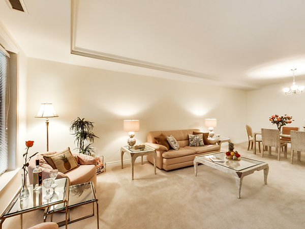 2289 Lake Shore Blvd, W, Grand Harbour Condos, TH Living room, Toronto