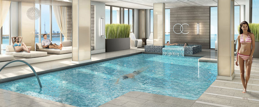 Ocean Club Condos Toronto Indoor Pool