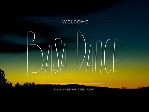 Basa Dance Font