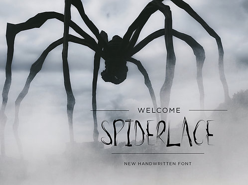 Spider Lace Font