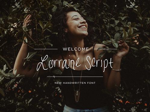 Lorrain Script Font