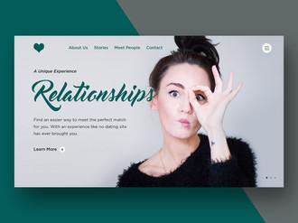 DatingRelationships-WebsiteMock-Dribbble
