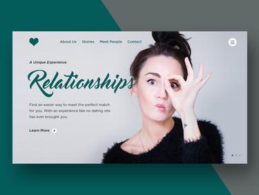DatingRelationships-WebsiteMock-Dribbble