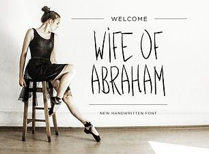 WifeofAbraham_FontDisplay.jpg