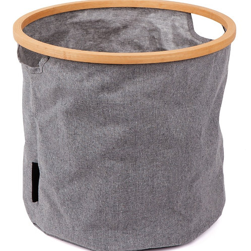 Round Hamper Scrunch and Store (Medium)