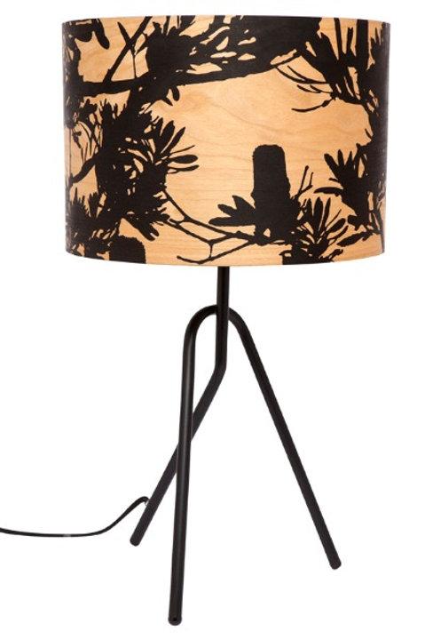 Coastal Banksia Timber Table Lamp