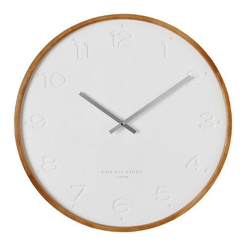 Clock Freya White 35cm