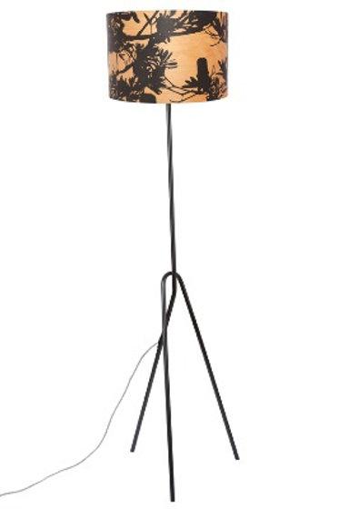Coastal Banksia Timber Floor Lamp