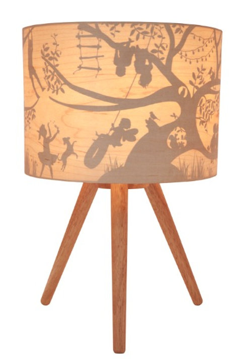 Treehouse Timber Lamp