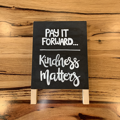 Pay it Forward Family Meal