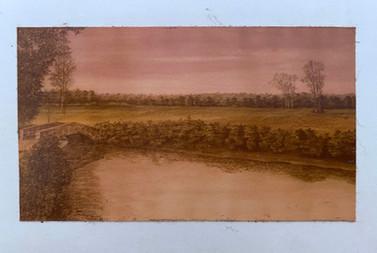 Pastel de óleo, 1982/ Oil pastel, 1982.