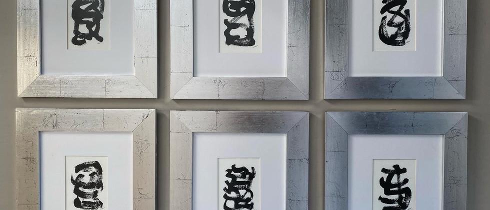 Serie grafología/ Graphology series.