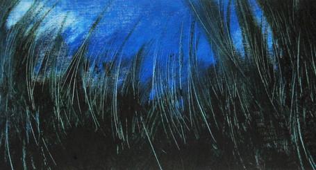 Óleo sobre papel, 2005/ Oil on paper, 2005.