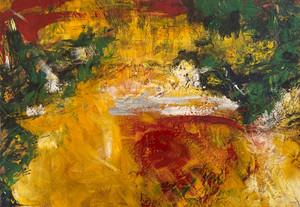 Primera obra abstracta, 1975/ First abstract work, 1975.