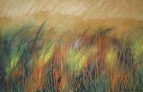 Óleo sobre cartón, 2001/ Oil on paperboard, 2001.