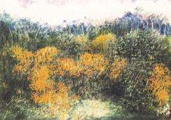 Óleo sobre cartulina, 1998/ Oil on cardboard, 1998.