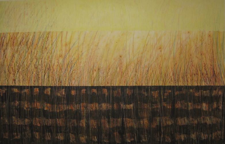 Técnica mixta sobre papel, 2010/ Mixed media technique, 2010.
