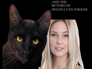 New Book Cover for Agent Felesoid and the Return of Helena Van Fokker