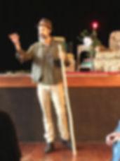 Jeff Atkinson, story-teller at DFoV 2020