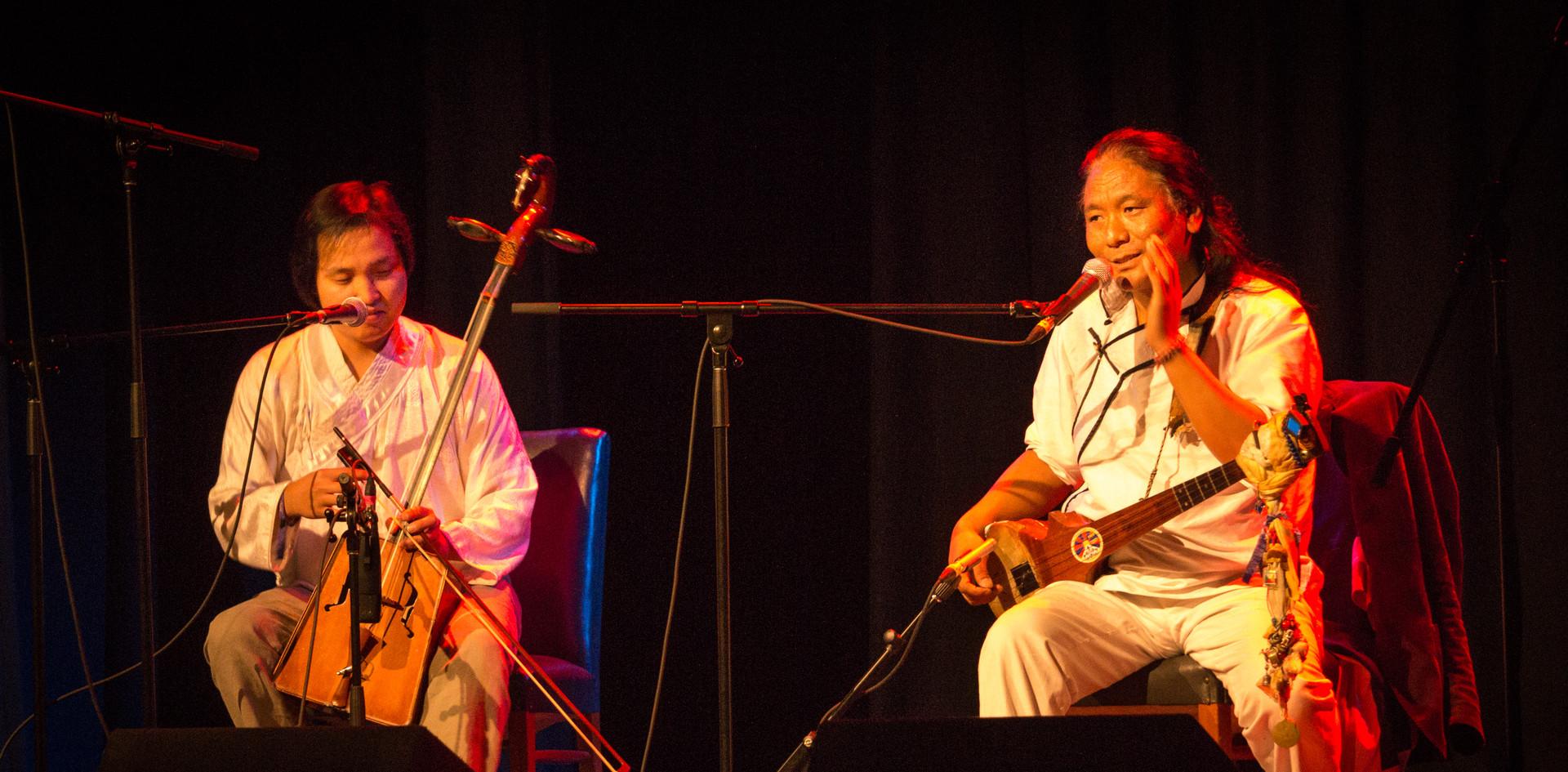 Bukhchuluun Ganburged and Tenzin Choegya