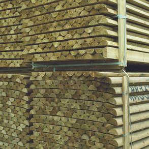 Machine Round Stake 1.80m x 100mm