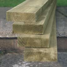 Planed Pine Grave Board