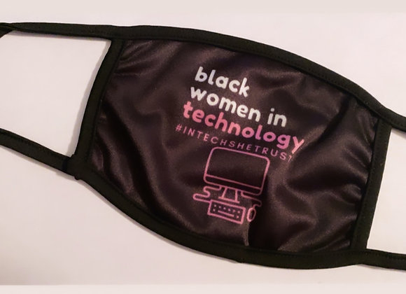 Black Women In Tech Mask