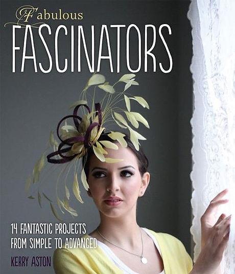 My book cover - Fabulous Fascinators 😊