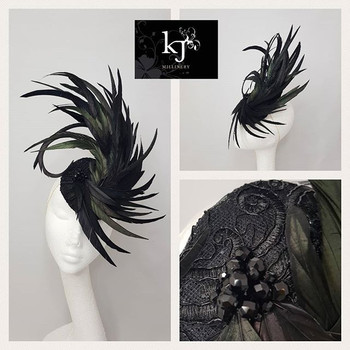 Dramatic Feather Plume