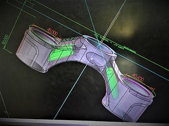 Progettazione F929 ACAD Cartuccia Italian Design