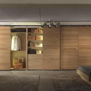 16- Custom Closet Set Maple