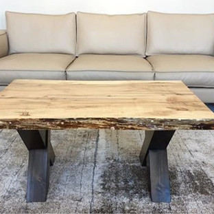 29 - Maple Live Edge Coffee Table