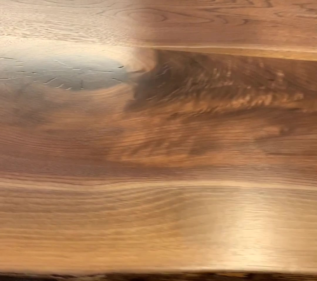 TABLE 23- Stunning Black Walnut Live Edge Table - READY TO GO! - You choose the base! SOLD!