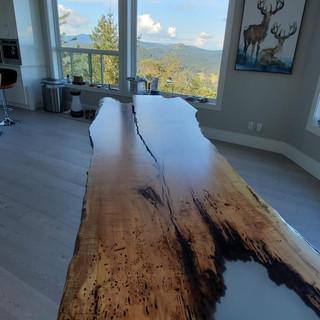 47 - 49 Single Slab Live Edge Table