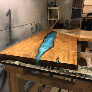 33 - Maple Coffee Table - River