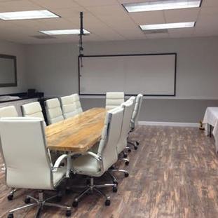32- Single Slab Maple Boardroom Table