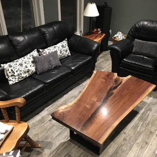 34 - Black Walnut Coffee Table