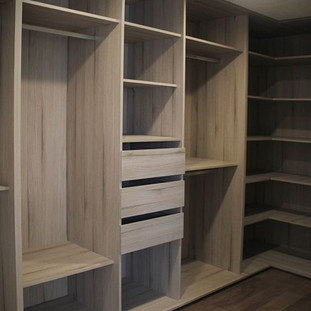 12- Custom Walk-in Closet