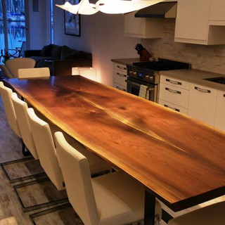 009A - Black Walnut Live Edge Table