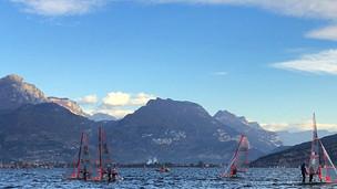Lake Garda Optimist Clinic kick-off