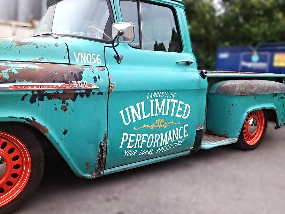 Chevy Truck Old >> Old Town Sign Company | Unlimited Performance Speed Shop